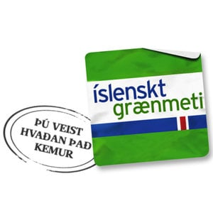 Íslenskt grænmeti